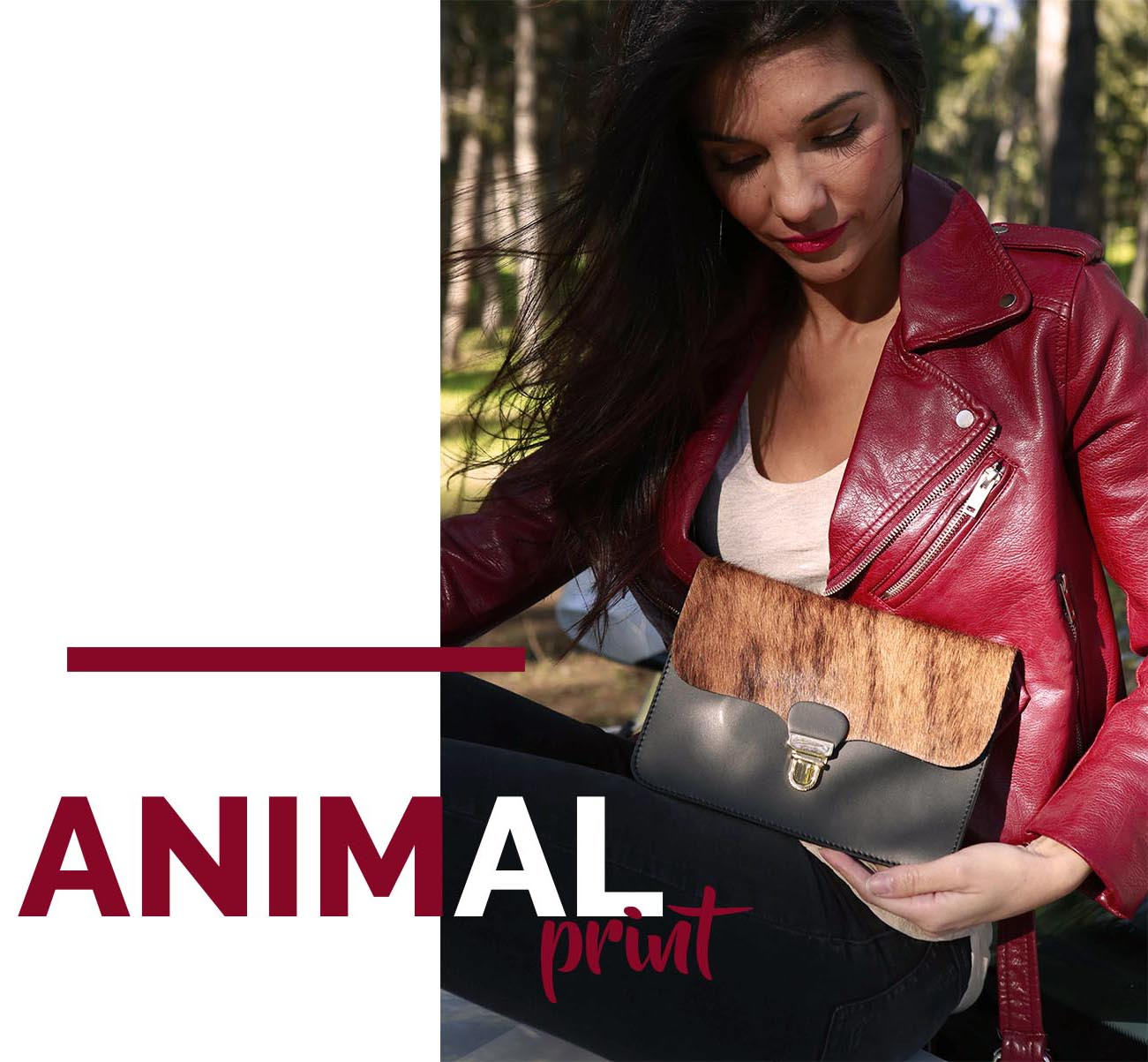 animal print kalimba
