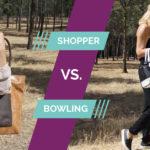 shopper vs. bowling