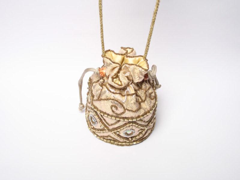 bolso de fiesta bombonera dorado – dv01