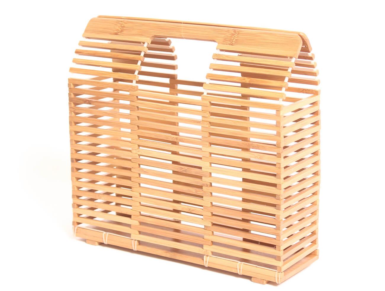 Bolso de Bambú cuadrado