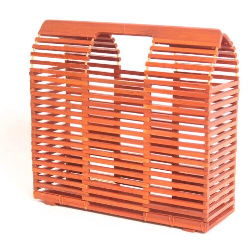 Bolso de bambu cuadrado (7)