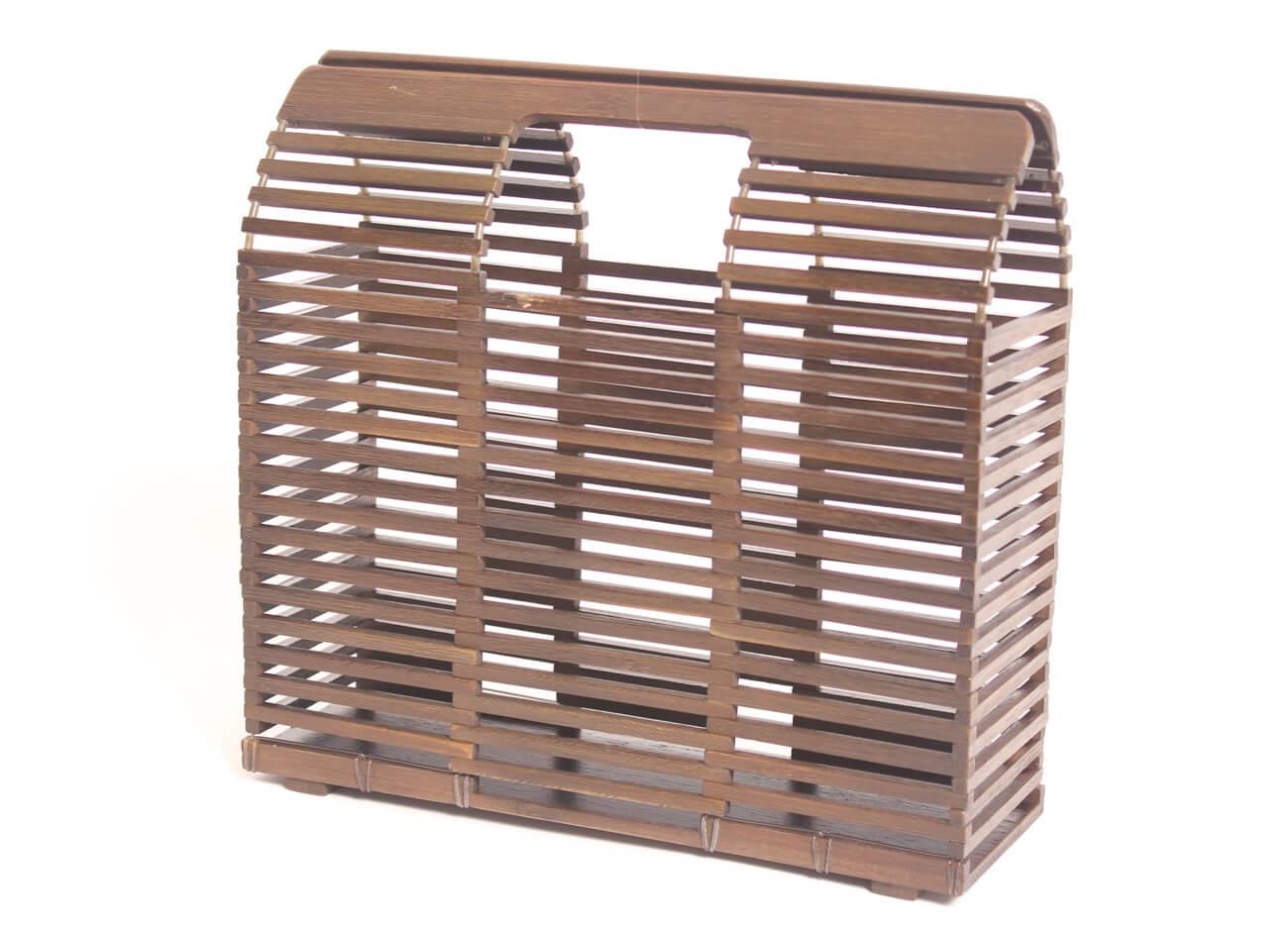 Bolso de bambu cuadrado (8)