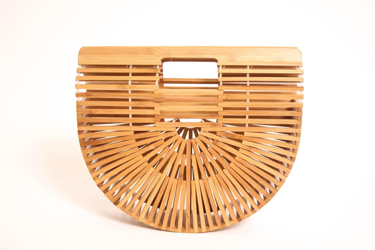 Bolso de bambu japones media luna (2)