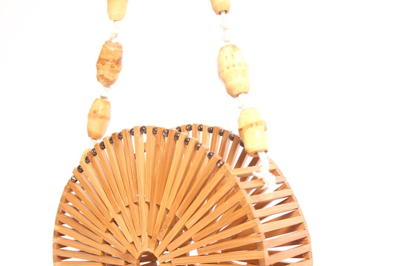 Bolso de Bambú redondo Pequeño