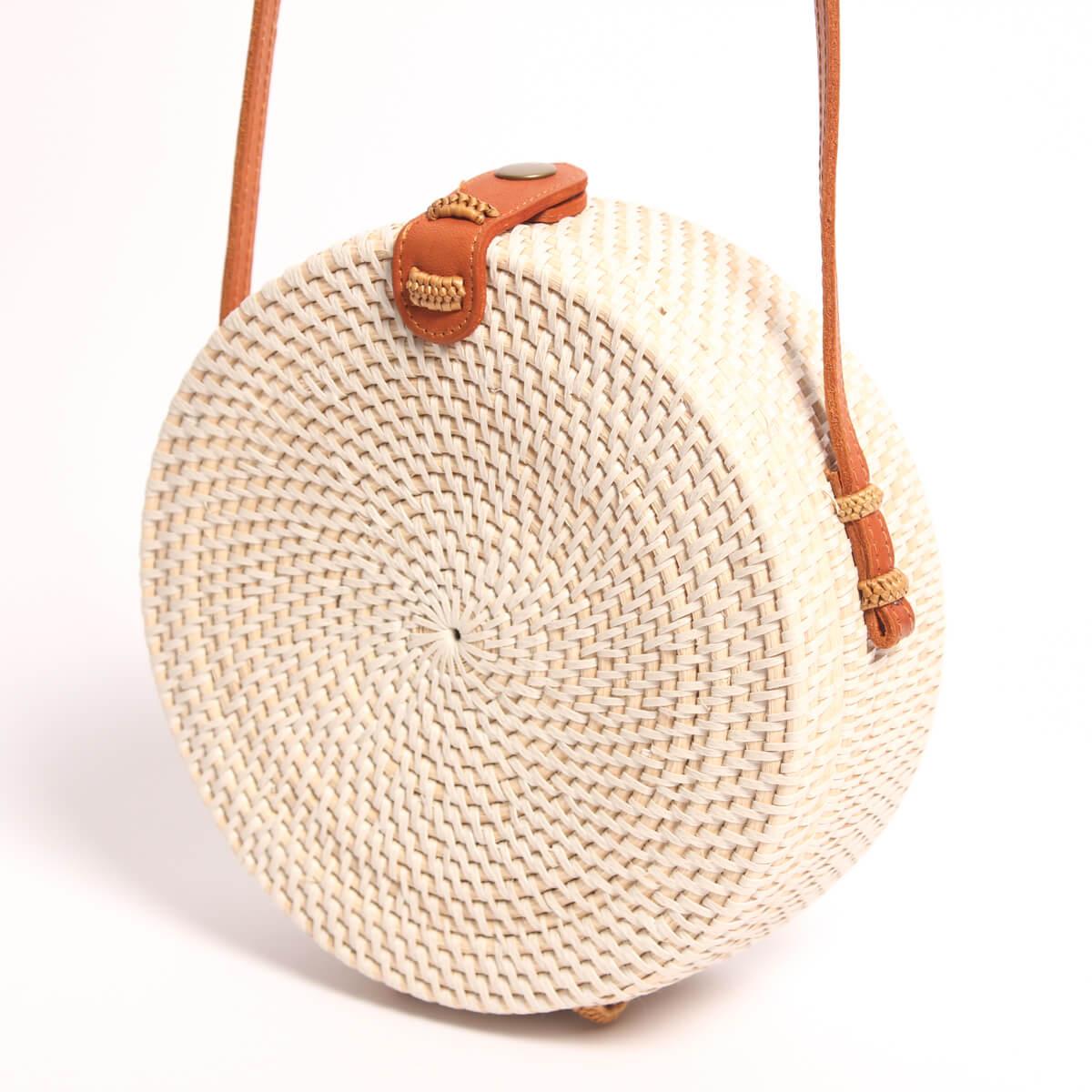 Bolso blanco de Ratan Redondo